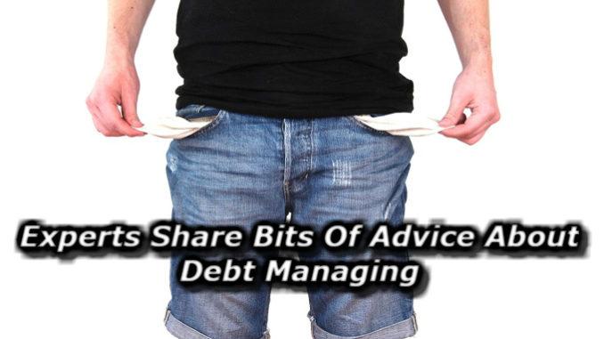 managing debt advice