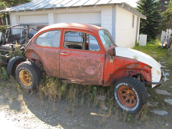 buy a used car old vw bug